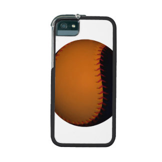 Orange and Black Baseball / Softball iPhone 5/5S Covers