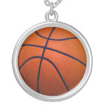 Orange and Black Basketball Custom Jewelry