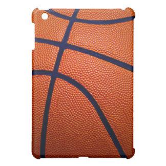 Orange and Black Basketball iPad Mini Case