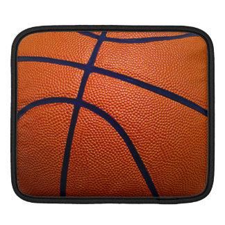 Orange and Black Basketball Sleeve For iPads