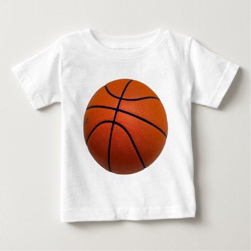 Orange and Black Basketball T Shirts