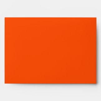 Orange and Black Envelope