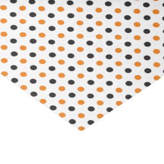 Orange and Black Halloween Tissue Paper