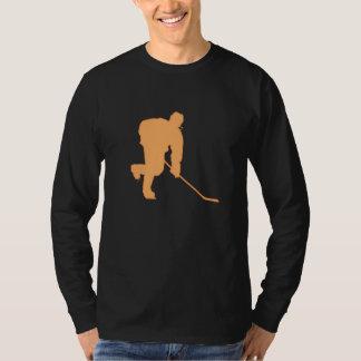 ORANGE AND BLACK HOCKEY T-Shirt