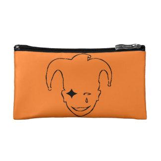 Orange And Black MTJ Cosmetic Bag