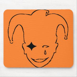 Orange and Black MTJ Mouse Pad
