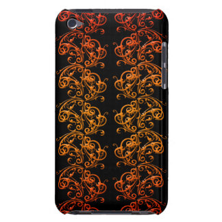 Orange and Black Swirls Phone Cases and Covers iPod Touch Cover