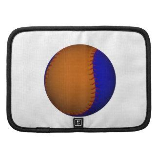 Orange and Blue Baseball Organizer