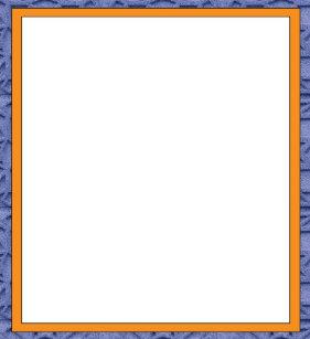 orange and blue border 55 x 6 notepad