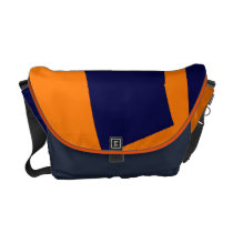 Orange and Blue Brigade Messenger Bag