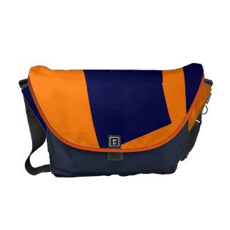 Orange and Blue Brigade Messenger Bag