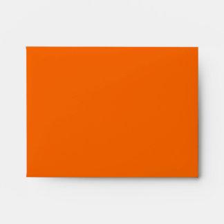 Orange and Blue Chevron NoteCard Envelopes