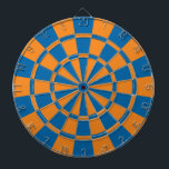 """Orange And Blue Dartboard<br><div class=""""desc"""">Orange And Blue Dart Board</div>"""