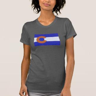 Orange and Blue T-Shirt