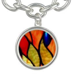 Orange and Blue Tiffany Bracelets