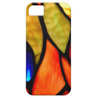 Orange and Blue Tiffany IPhone 5  Case iPhone 5 Cover