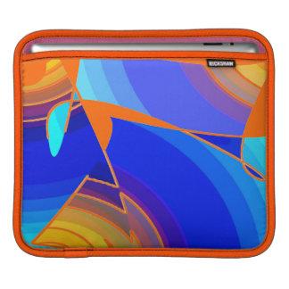 Orange and Blue Tones iPad Sleeve