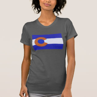 Orange and Blue Tee Shirt