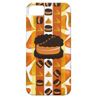 Orange and Chocolate Cookie iphone5 iPhone 5 Cases