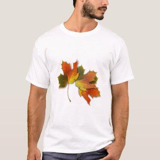 Orange And Golden  Autumn Leaves T-Shirt