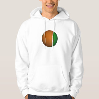 Orange and Green Baseball Pullover