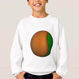 Orange and Green Baseball Sweatshirt