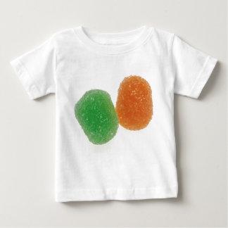 Orange and Green Gumdrops Baby T-Shirt
