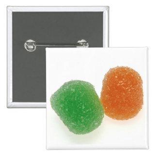 Orange and Green Gumdrops Pins
