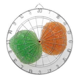 Orange and Green Gumdrops Dartboards