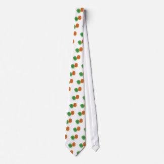Orange and Green Gumdrops Tie