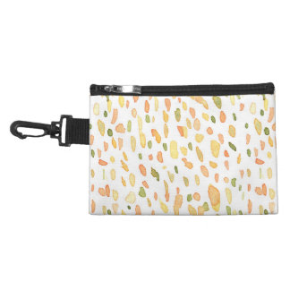 Orange and Green Painted Accessory Bags