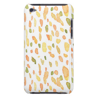 Orange and Green Painted Case-Mate iPod Touch Case