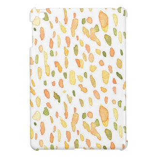 Orange and Green Painted iPad Mini Cases