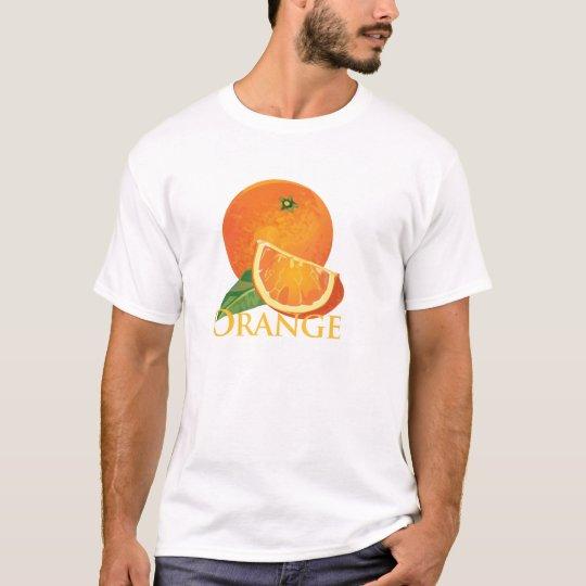 Orange and Orange Slice T-Shirt