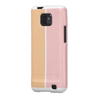Orange and pink galaxy s2 covers
