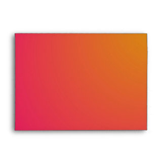 Orange and Pink Gradient Envelope