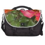 Orange and Pink Roses Commuter Bag