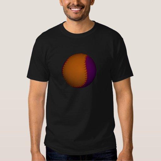 Orange and Purple Baseball T-Shirt