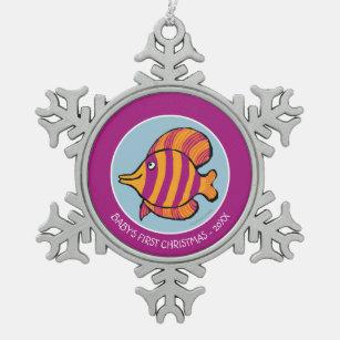 Tropical Fish Ornaments & Keepsake Ornaments   Zazzle