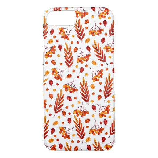 Orange and Red Fall Leaves Phone Case
