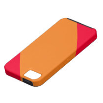 Orange and Red Striped IPhone 5 Case