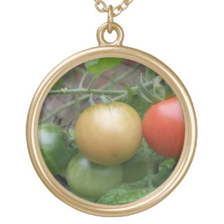 Orange and Red Tomatoes Necklace