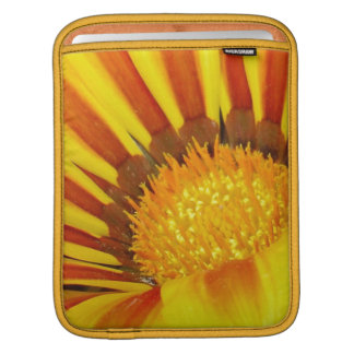 Orange and Rust Color Gazania Montezuma Macro Sleeve For iPads