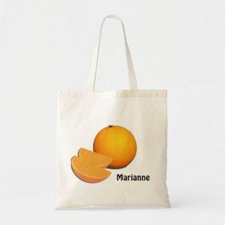 Orange and Slices Tote Bag