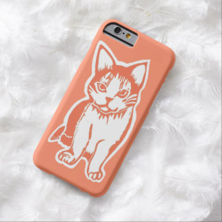 Orange and White Cat Orange iPhone 6 Case