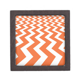 Orange and White Fast Lanes Gift Box