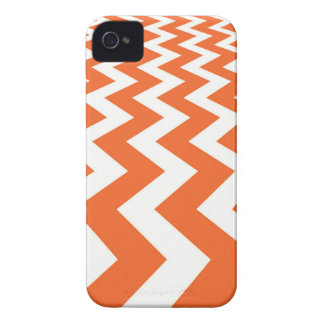 Orange and White Fast Lanes iPhone 4 Case