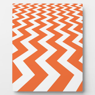 Orange and White Fast Lanes Plaque