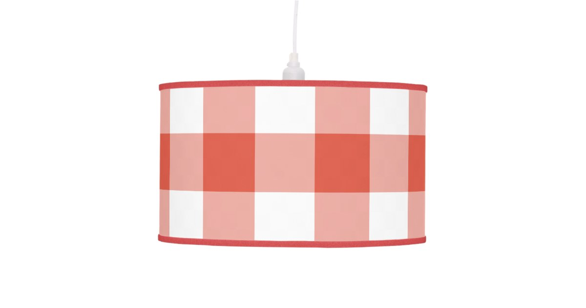 Pink gingham ceiling lamp shade ceiling light ideas pink gingham ceiling lamp shade theteenline org aloadofball Images