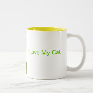 Orange and White Short Haired Cat Mug